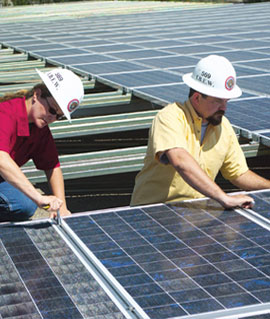 Skilled, Trained and Ready to Power the Green Energy Economy