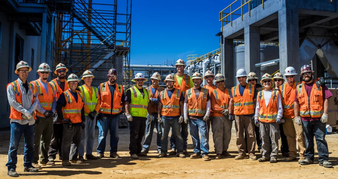 IBEW 569 Builds DeSalination Plant