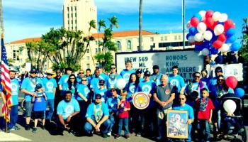 IBEW 569 at MLK Parade